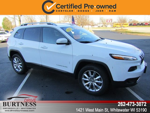 Certified Pre Owned 2016 Jeep Cherokee Limited