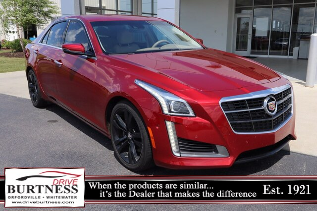 Pre-Owned 2014 Cadillac CTS 3.6L Twin Turbo Vsport