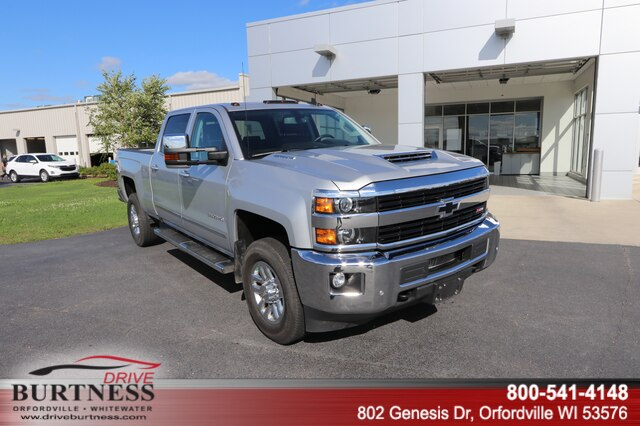 Pre-Owned 2017 Chevrolet Silverado 3500HD LTZ