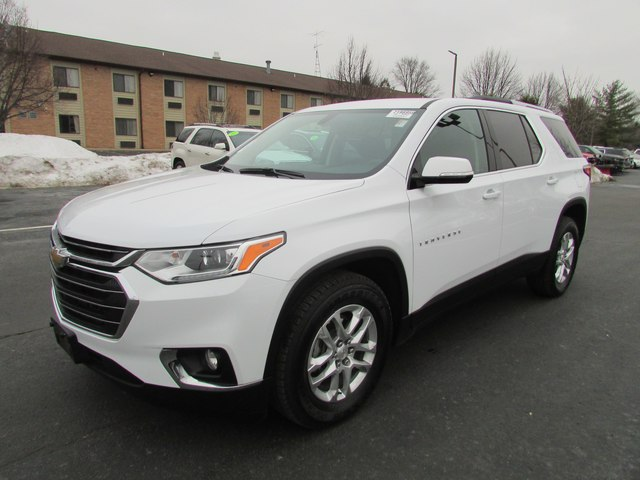 Pre Owned 2018 Chevrolet Traverse Lt Cloth W 1lt