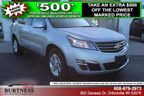 Pre-Owned 2014 Chevrolet Traverse LT w/2LT