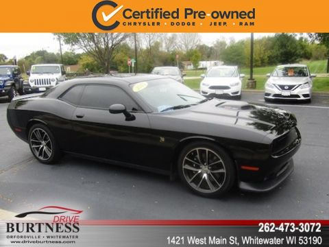 Certified Pre-Owned 2015 Dodge Challenger R/T Scat Pack 392